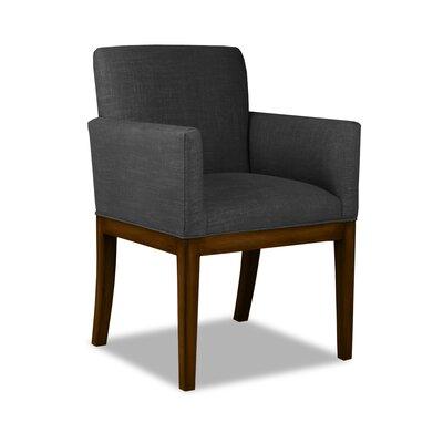 Hanshaw Arm Chair Upholstery: Charcoal