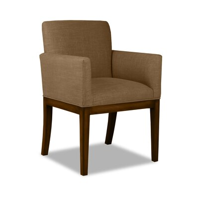Hanshaw Arm Chair Upholstery: Brown