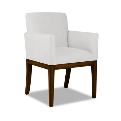 Hanshaw Arm Chair Upholstery: White