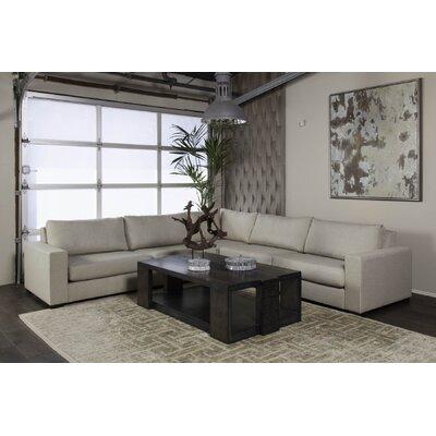 Brose Modern Modular Sectional Upholstery: Sand