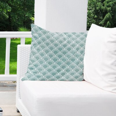 Stalvey Indoor/Outdoor Euro Pillow Color: Blue