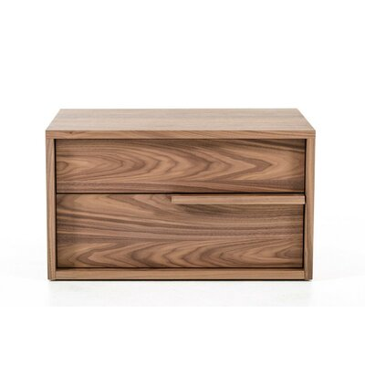 Carte 2 Drawer Nightstand