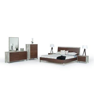 Kiera 4 Piece Bedroom Set Size: Queen