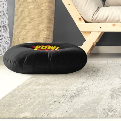 Steffen Pow Outdoor Floor Pillow Size: 26 x 26
