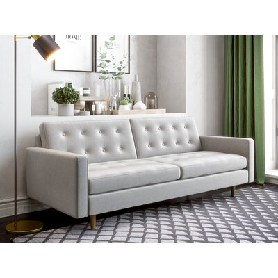 Plemons Sofa Upholstery: Heather Gray