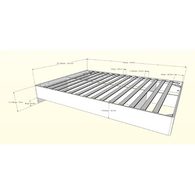 Etna Platform Bed Size: Full