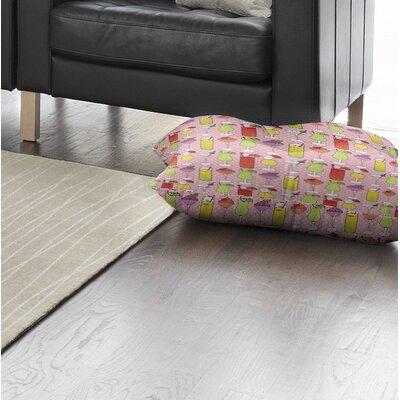 Crooks Indoor/Outdoor Floor Pillow Size: 26 H x 26 W x 8 D