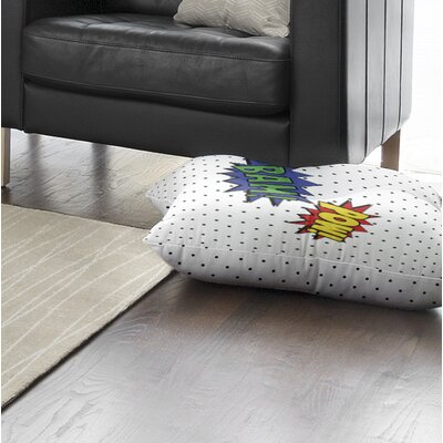 Steffen Pow and Bam Outdoor Floor Pillow Size: 26 x 26