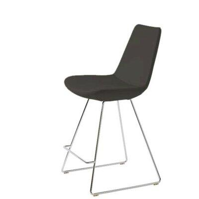 Shinkle 24 Bar Stool Seat Color: Black Leatherette