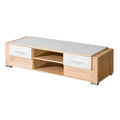 Drews 58 TV Stand Color: White