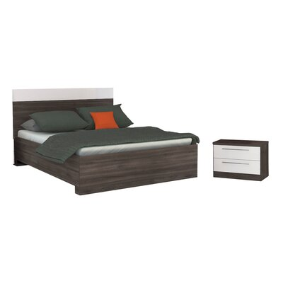 Hassell Queen Platform Configurable Bedroom Set