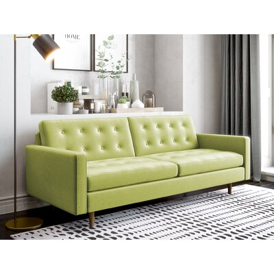 Plemons Sofa Upholstery: Wheatgrass Green