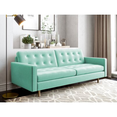 Plemons Sofa Upholstery: Duck Egg