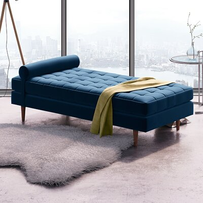 Almaguer Chaise Lounge Color: Royal Blue