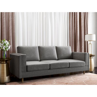 Mcmorris Sofa Upholstery: Charcoal Gray