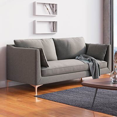 Bluefield Sofa Upholstery: Charcoal Gray