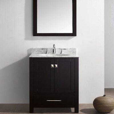 Pichardo 30 Single Bathroom Vanity Set Base Finish: Espresso