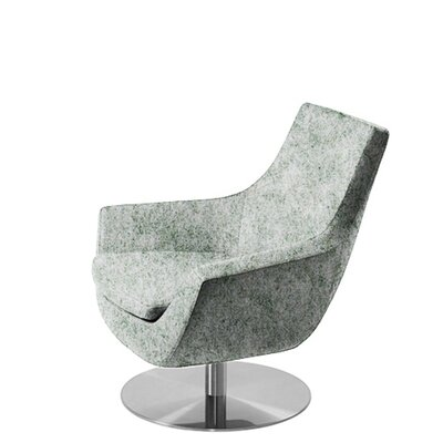 Shipley Swivel Armchair Upholstery: Light Gray