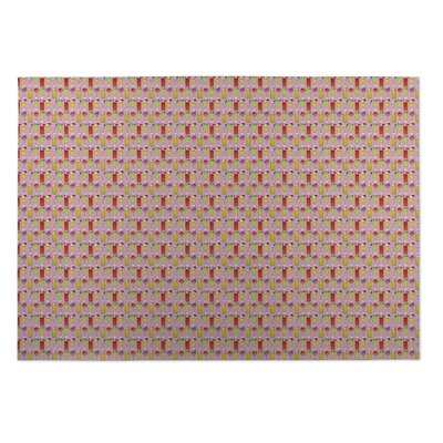 Niko Cocktails Indoor/Outdoor Doormat Rug Size: Square 8