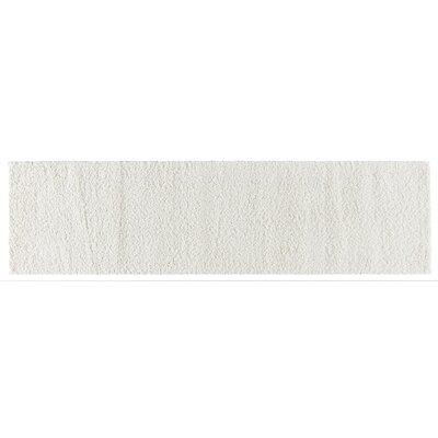 Artz White Area Rug Size: 2 x 8