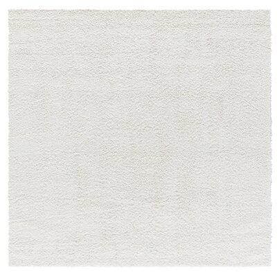 Artz White Area Rug Size: 6.7 x 6.7