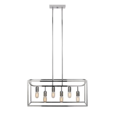 Ebaugh 6-Light Kitchen Island Pendant