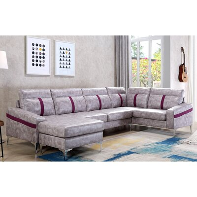 Lin Sectional with Ottoman