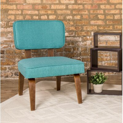Jimison Slipper Chair Upholstery: Teal