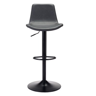 Rarick Adjustable Height Swivel Bar Stool