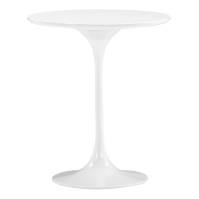 Wilco Side End Table Color: White