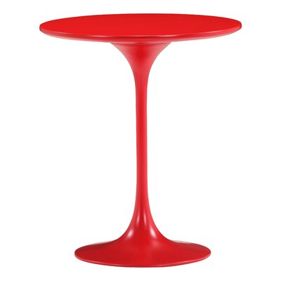 Wilco Side End Table Color: Red