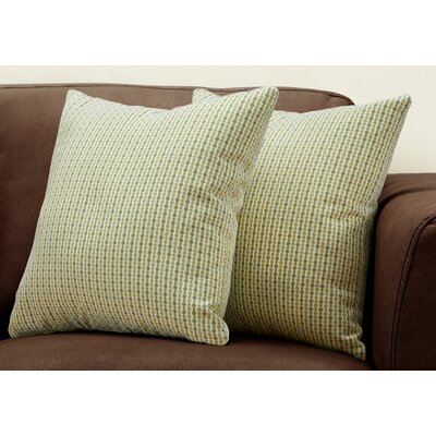 Tangerang Classic Dot Throw Pillows Color: Dark/Green