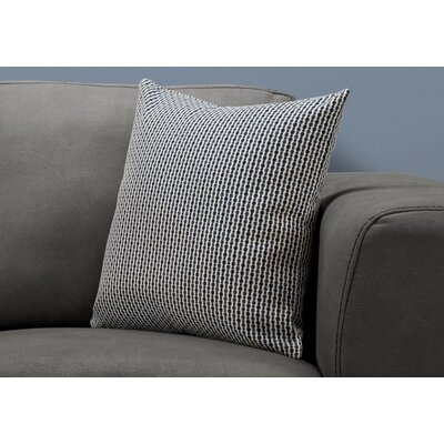 Tangerang Dot Throw Pillow Color: Light/Dark Blue