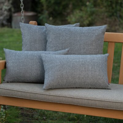 Dunecrest Outdoor Pillow Color: Heather Gray