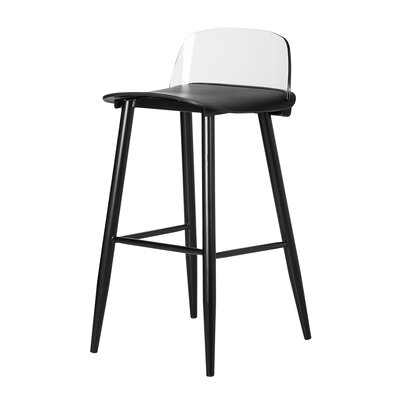 Coolidge 30 Bar Stool Color: Black
