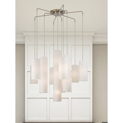 Dimattia 10-Light Kitchen Island Pendant