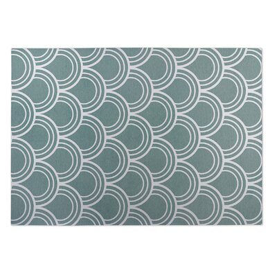 Madisen Loops Doormat Color: Blue