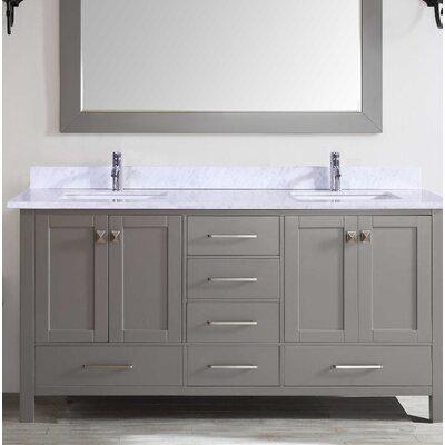 Zeringue 84 Double Bathroom Vanity Set
