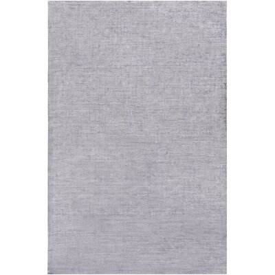 Calhoun Hand-Loomed Gray Area Rug Rug Size: Rectangle 6 x 9