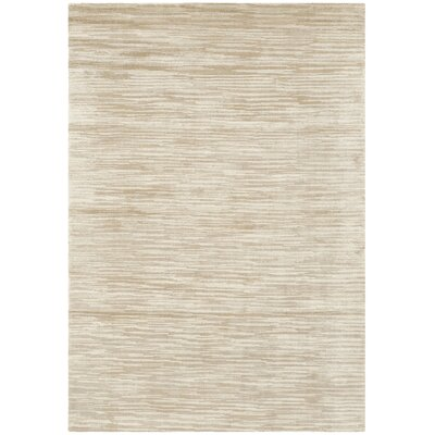 Maxim Beige Soild Rug Rug Size: Rectangle 4 x 6