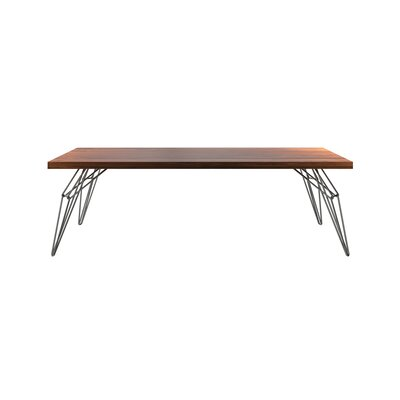 Gettys Dining Table Size: 29.5 H x 42 W x 80 D