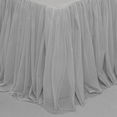 Weinman Bedskirt Size: King, Color: Gray