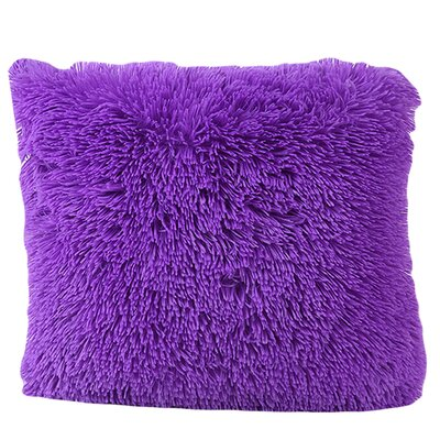 Del Rey Oaks Cotton Blend Pillow Cover Color: Purple