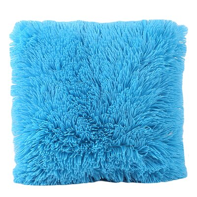 Del Rey Oaks Cotton Blend Pillow Cover Color: Sky Blue