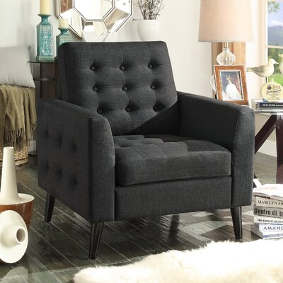 Starner Armchair Upholstery: Charcoal