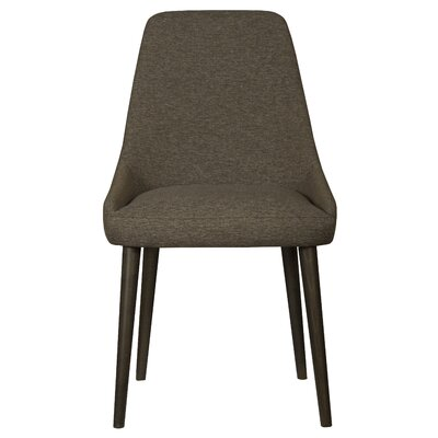 Belmonte 120 Upholstered Dining Chair Upholstery Color: Espresso, Finish: Rockport