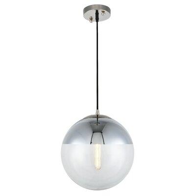 Simeone 1-Light Globe Pendant Size: 60 H x 12 W x 12 D