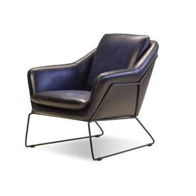 Melina Armchair Upholstery: Midnight Blue