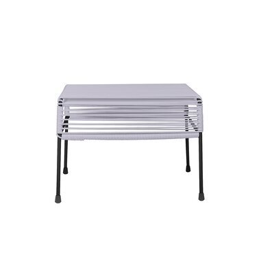 Cobbey Cocktail Ottoman Finish: Black/Clear