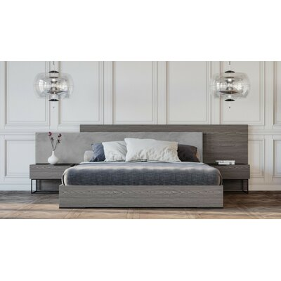 Daughtery Platform 3 Piece Bedroom Set Size: Queen